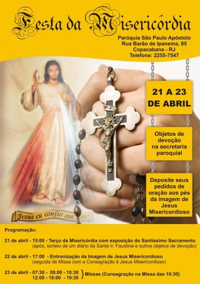 Festa da Misericórdia 2017